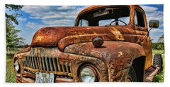Bath Towel featuring the photograph Texas Truck by Daniel Sheldon