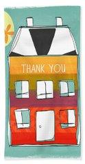 Thank You Card Bath Towel