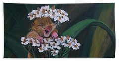 That Tickles Bath Towel by Sharon Duguay