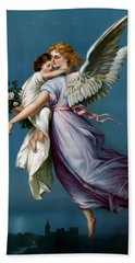 The Angel Of Peace For I Phone Bath Towel