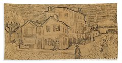 The Artists House In Arles Hand Towel