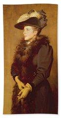 The Artists Wife, 1893 Bath Towel