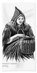 The Basket Maker Bath Towel