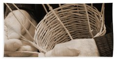 The Basket Weaver Bath Towel