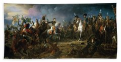 The Battle Of Austerlitz Hand Towel