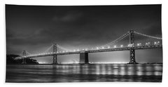 The Bay Bridge Monochrome Hand Towel