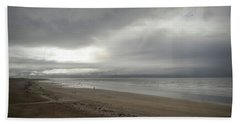 The Beach At Ventry Dingle Peninsula Hand Towel by Nadalyn Larsen