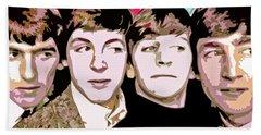 The Beatles Love Hand Towel