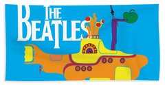 The Beatles No.11 Bath Towel