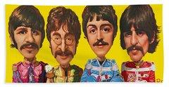 The Beatles Bath Towel