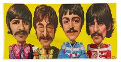 The Beatles Bath Towel