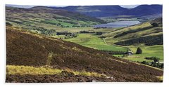 The Beauty Of The Scottish Highlands Hand Towel