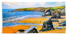 The Bedruthan Steps Cornwall Bath Towel