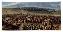 The Betting Post, Print Made By Charles Hand Towel