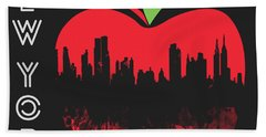 the Big Apple Hand Towel