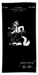 The Big Bad Wolf Hand Towel
