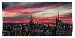 New York City Skyline Hand Towels