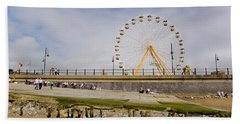 The Big Wheel And Promenade, Tramore Bath Towel