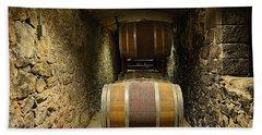 The Biltmore Estate Wine Barrels Bath Towel