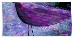 The Bird - S40b Bath Towel by Variance Collections