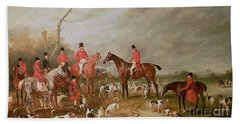 The Birton Hunt Hand Towel