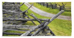 The Bloody Lane At Antietam Hand Towel
