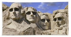 The Boys Of Summer 2 Panoramic Hand Towel