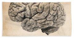 The Brain Is Wider Than The Sky Hand Towel by Taylan Apukovska