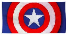 The Captain's Shield Hand Towel