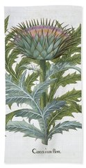 The Cardoon, From The Hortus Hand Towel by German School