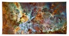 The Carina Nebula Bath Towel