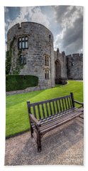 The Castle Bench Hand Towel