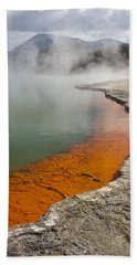The Champagne Pool At Wai O Tapu Bath Towel