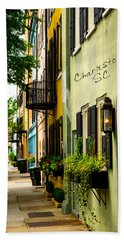 The Charm Of Charleston Hand Towel