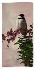 The Chickadee Bath Towel