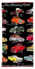 The Fords Shower Curtain Bath Towel