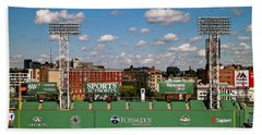 Bath Towel featuring the photograph The Classic II Fenway Park Collection  by Iconic Images Art Gallery David Pucciarelli