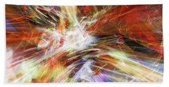 Hand Towel featuring the digital art The Cleansing by Margie Chapman