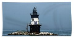 The Coffee Pot Lighthouse Bath Towel