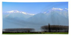Bath Towel featuring the photograph The Colors Of Mount Olympus by Sotiris Filippou