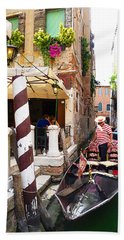 The Colors Of Venice Hand Towel