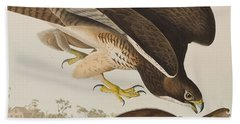 The Common Buzzard Bath Towel