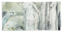 The Compassion Of Pharaohs Daughter Or The Finding Of Moses Hand Towel