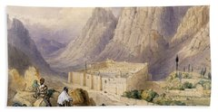 The Convent Of St. Catherine, Mount Hand Towel