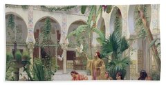 The Court Of The Harem Hand Towel