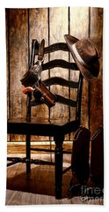The Cowboy Chair Hand Towel