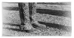 The Cowgirl Hand Towel by Mary Lee Dereske