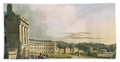 The Crescent, From Bath Illustrated Bath Towel