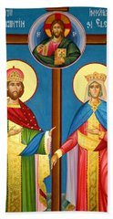 The Cross Icon Hand Towel