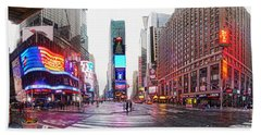 The Crossroads Of The World Bath Towel